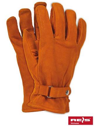 Перчатки защитные утепленные овчиной RBNORTHPOLE, фото 2