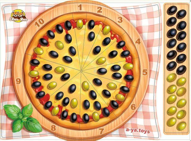 Математический Сортер Пицца, Ань-Янь (ПСФ081)