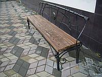 Изготовление парковых скамеек