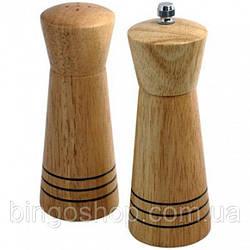 Набір сіль/перець MAESTRO MR-1615 дерево   набір для спецій Маестро   солонка і перечниця Маестро
