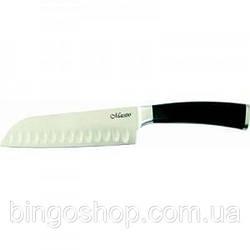 Ніж японський Santoku Maestro MR-1465 (180 мм)   ножик Маестро   ножі кухонні Маестро