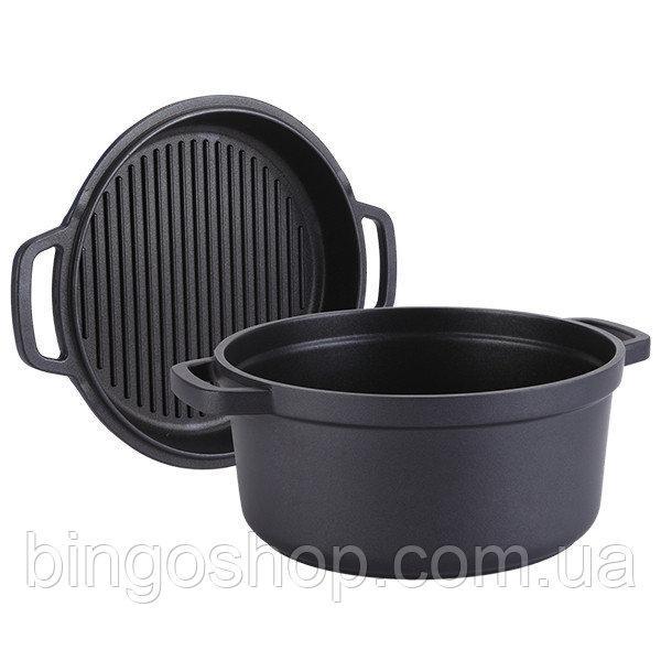 Гусятниця + сковорода-гриль Maestro MR-4126 | сковорідка з антипригарним покриттям Маестро | каструля Маестро