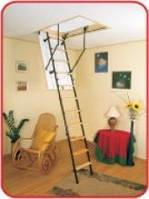 Чердачная складная лестница на дачу Oman Stallux (ST3)