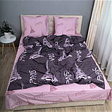 Комплект постельного белья KrisPol «Париж» 200x220 Сатин, фото 2
