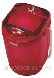 Стиральная машина полуавтомат VILGRAND V135-2550 red на 3,5 кг с вертикальной загрузкой