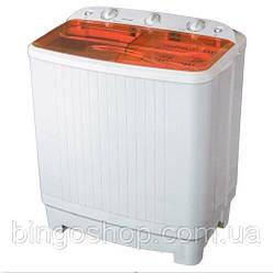 Стиральная машина полуавтомат VILGRAND VD708-52 оранж