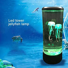 Ночник светодиодный Аквариум с медузами SKL11