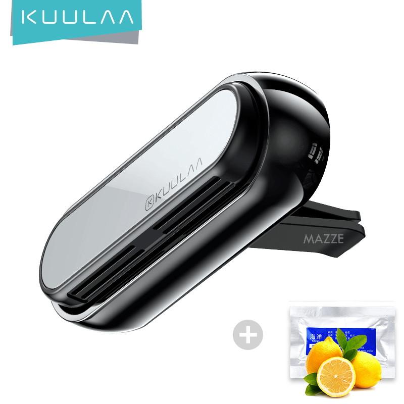 Автомобільний освіжувач повітря ароматизатор на повітропровід дефлектор авто KUULAA Car Air Outlet (KL-CZ05) +