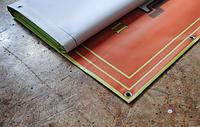 Широкоформатная печать на литом баннере  (плотность 440 гр/кв.м). 720dpi (плотность 510 гр/кв.м). 720-1440dpi