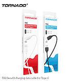 Кабель USB-C Tornado TX1 Type-C black, фото 2