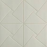 Стельова панель ПВХ Символи Лінії (3Д панелі самоклеюча м'яка для стелі стельова плитка 700*700*7 мм