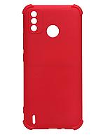 Силікон Tecno Spark 6 Go red Silicone Case