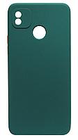 Силікон Tecno POP4 dark green Square TPU