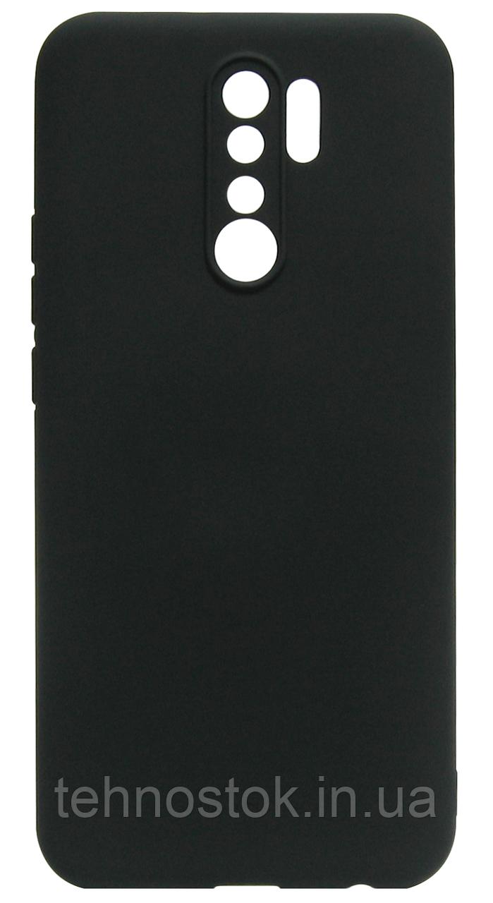 Силікон Xiaomi Redmi9 black Silicone Case Molan