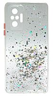 Силікон Xiaomi Redmi Note 10 Pro clearsilver Confetti