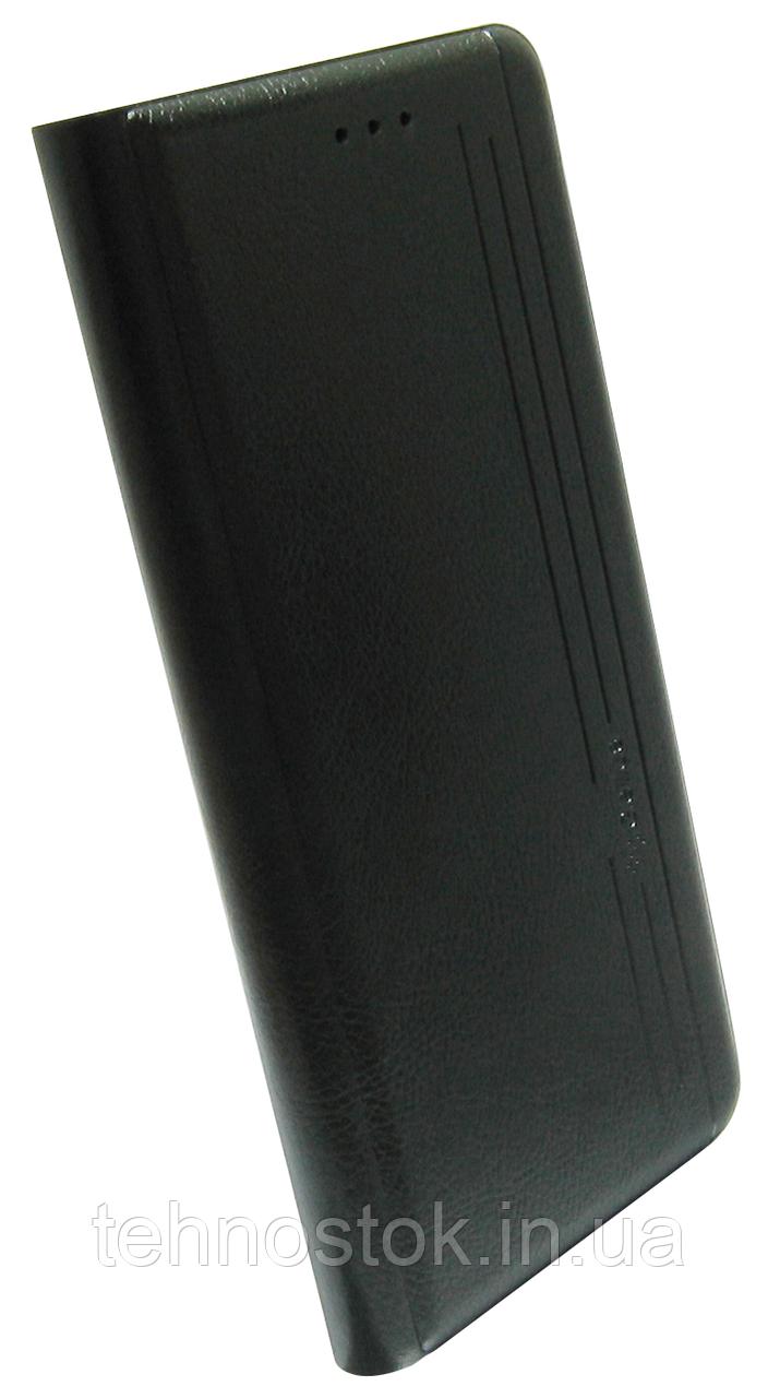 Чехол-книжка Xiaomi Redmi Note 10 Pro black Leather Gelius New