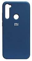 Силикон Xiaomi Redmi Note 8T blue Silicone Case