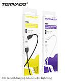 Кабель USB-Lightning TORNADO TX1 black, фото 2