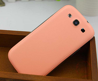 Персиковая задняя крышка на Samsung Galaxy S3/S3 duos