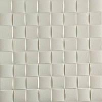 Декоративная 3Д панель стеновая Плетенка 10 шт самоклейка 3d панели для стен квадраты текстурная 700x700x8мм, фото 1