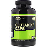 Glutamine Caps 1000 Mg.   240 caps   Optimum Nutrition