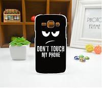 Силиконовый чехол бампер с рисунком для Samsung Galaxy Core i8260 i8262 My Phone