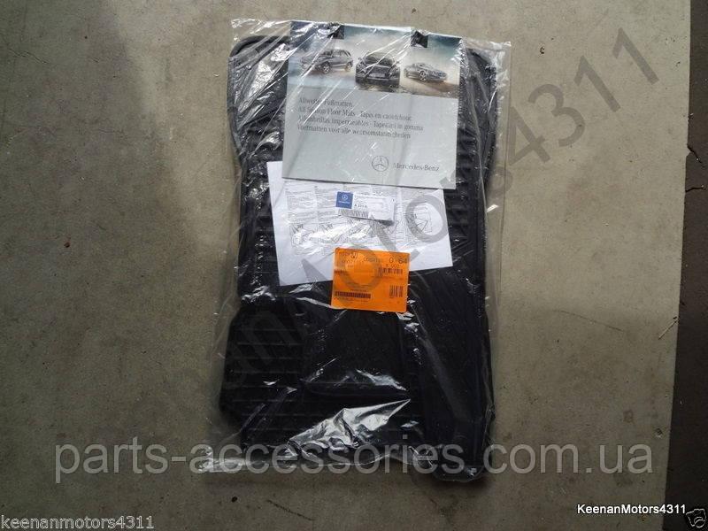 Mercedes SL Class R231 2012-2016 передні гумові килимки нові оригінальні
