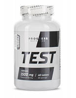 Progress Nutrition TEST 1500 mg 60 таб Тестостероновый бустер Progress Nutrition
