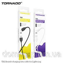 Кабель USB-Lightning TORNADO TX1 white