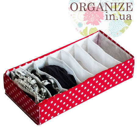 Коробочка для носочков\колгот ORGANIZE (пин ап)