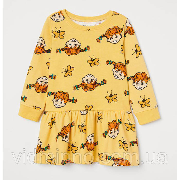 Платье Пеппи H&M на девочку 2-4 года - р. 98/104