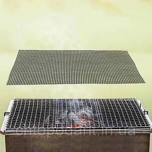 Антипригарний килимок сітчастий для барбекю Код 36-0001
