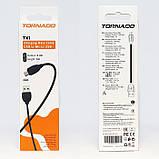 Кабель USB Micro TORNADO TX1 white, фото 2