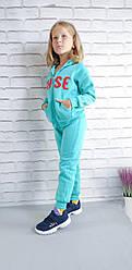 Дитячий спортивний костюм на флісі (Дівчинка)
