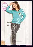 Женская пижама Anit 5003, костюм домашний с брюками Батальный Размер