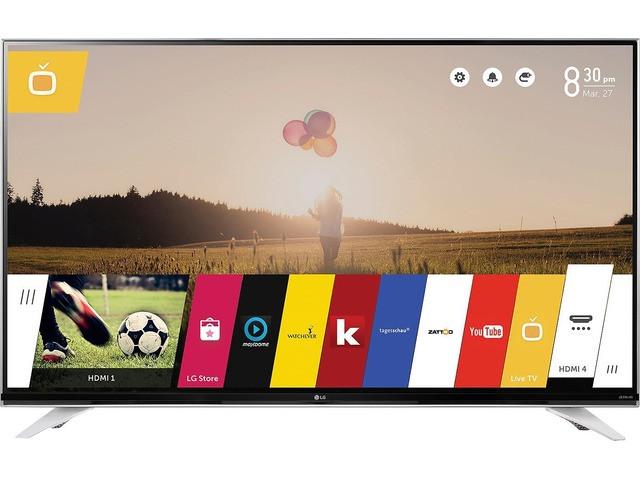 Телевизор LG 49UF8409 (1600Гц, Ultra HD 4K, Smart, Wi-Fi, пульт ДУ Magic Remote)