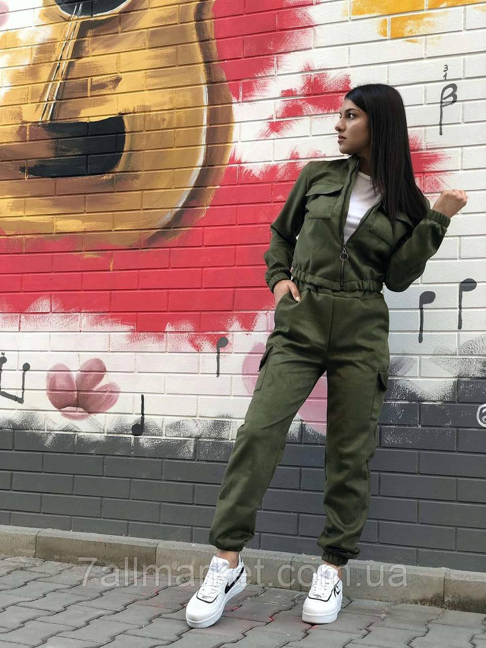 """Спортивний костюм жіночий штани джогеры, р-ри 42-46 (5кол)""""COCO"""" купити недорого від прямого постачальника"""