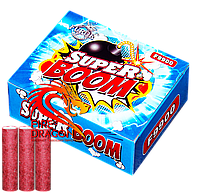 Петарди Super Boom F9900 Супер Часник в упаковці 20 штук