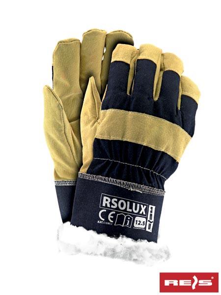 Перчатки защитные утепленные RSOLUX GY