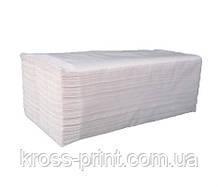 Полотенце бумажное V белое 2слоя 160л PRV 20шт/уп
