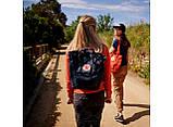 Сумка рюкзак 2в1 Kanken FJALLRAVEN Totepack Канкен 14 л Помаранчевий міської сумка-рюкзак трансформер, фото 7