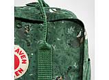 Рюкзак Kanken FJALLRAVEN Канкен 16 л повседневный рюкзак школьный портфель, Зеленый с енотом Разные цвета, фото 6