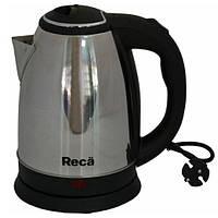 Електрочайник 1,8л, 2000 Вт, дисковый, RECA RKS-217S (101849)