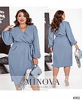Платье №1087Б-голубой голубой/48, фото 1