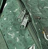 Рюкзак Kanken FJALLRAVEN Канкен 16 л повседневный рюкзак школьный портфель, Зеленый с енотом Разные цвета, фото 10