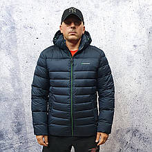 Чоловіча зимова куртка vinyl Black C20-1004