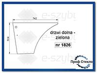 Стекло экскаватор-погрузчик Case 580ST 590ST 695ST 590SR 695SR- дверь Нижняя