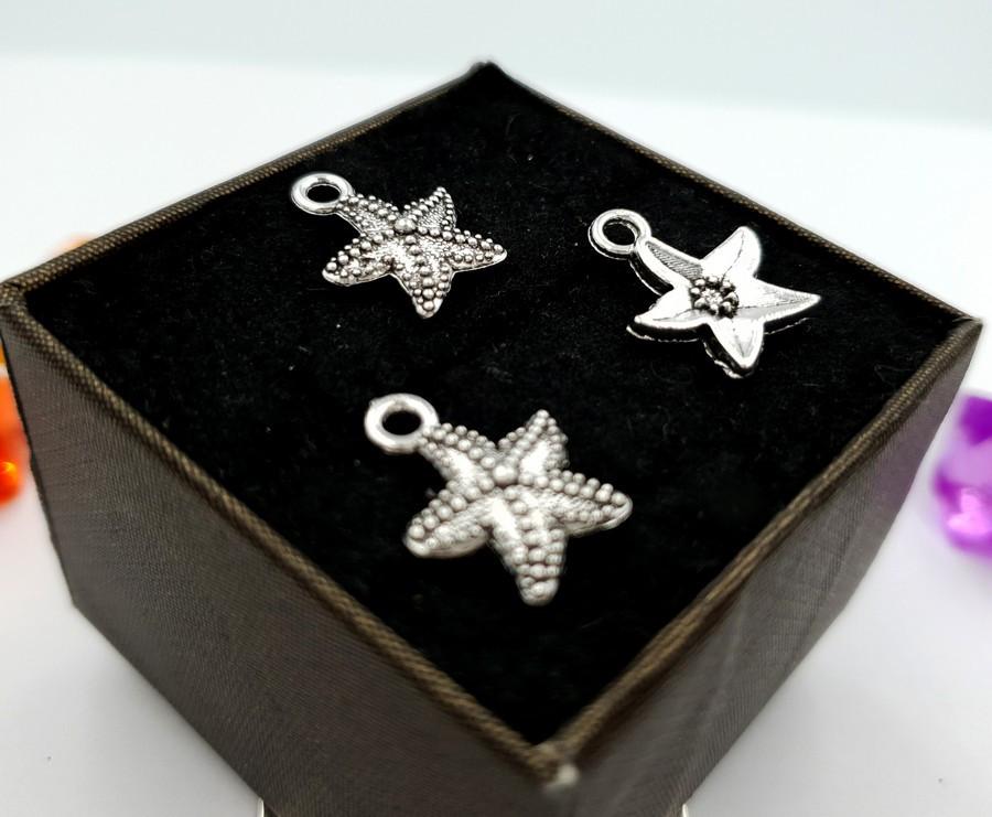 """(10шт) Кулоны из металла, подвеска """"Морская звезда"""""""