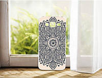 Силиконовый чехол бампер с рисунком для Samsung Galaxy Core i8260 i8262 Индийский узор