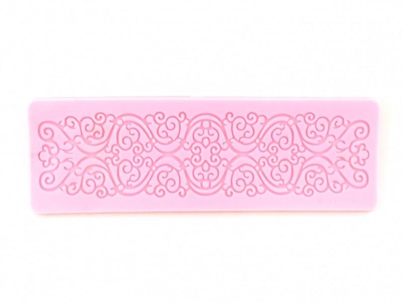 Силіконовий килимок для гнучкого айсинга Морозний візерунок